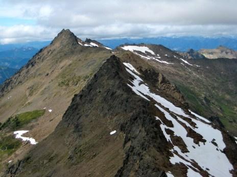 Big Chiwaukum Peak From Point 7955