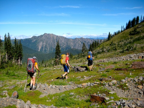 Hiking Sheepherder Trail From Grace Lakes
