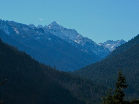Copper Peak From Meadow Creek