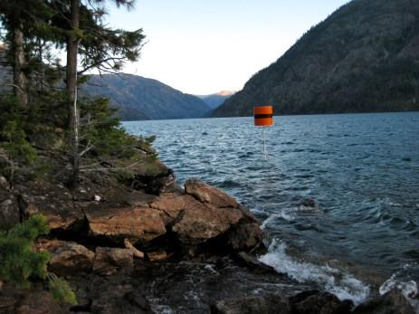 Channel Marker Below Camp 1