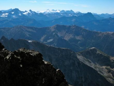 Kimtah Peak and Eldorado Peak From SW Face