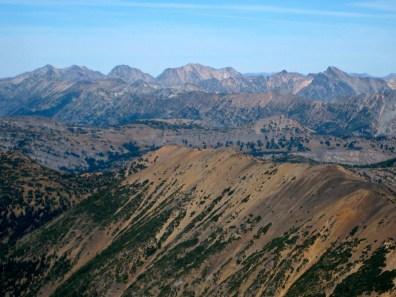High Pasayten Peak From Azurite Peak Summit