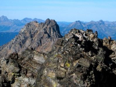 Mount Ballard From Azurite Peak Summit
