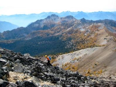 Eileen Nearing Star Peak Summit