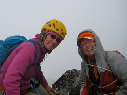 Eileen and Fay On Challenger Pinnacle Summit