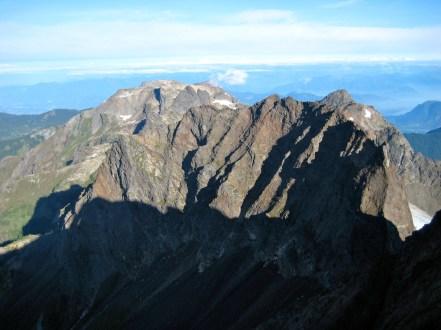 Baby Munday Peak and Stewart Peak From Welch Peak