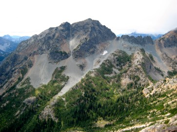 Copper Point and Kangaroo Pass From Temple