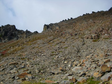Ascending To Deadhorse Pass