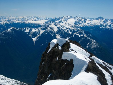 American Chilliwacks From Silvertip Mountain Summit