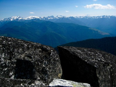 Snoqualmie Mountains From Mt Fernow
