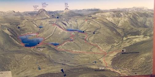 Cradle Mountain Area Photomap