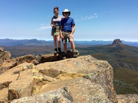 Brooke & Jim On Cradle Mtn Summit