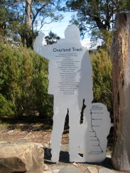 Overland Track End Marker At Cynthia Bay