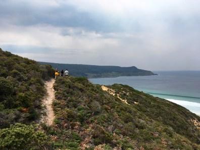 Hiking Above Moorina Bay