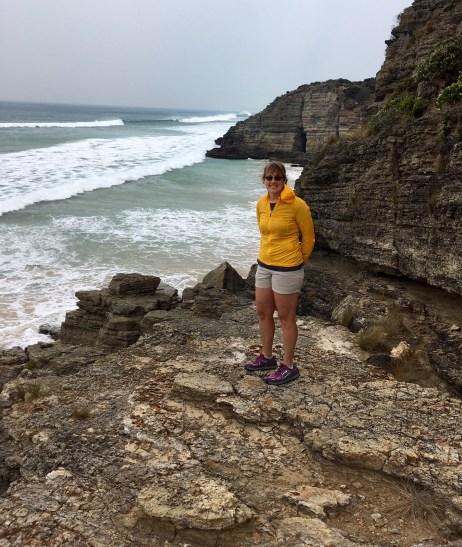 Eileen On Moorina Beach Crag