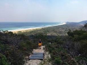 Hiking Above Moorina Beach