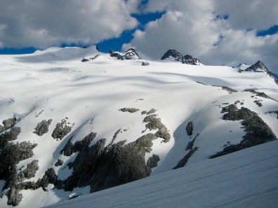 Mt Challenger From Whatcom Glacier