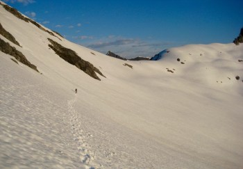 Final Traverse To Pickell Pass