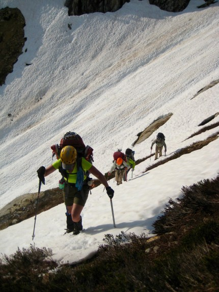 Ascending To Picket Pass