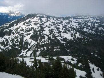 Stetattle Ridge From Elephant Butte