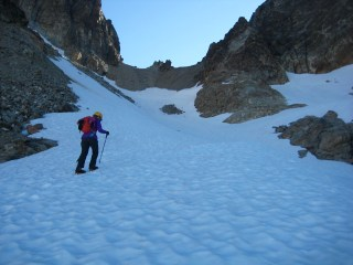 Eileen Heading Up To Col Of The Wild