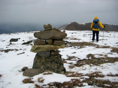 Fancy Cairn On Red Mtn