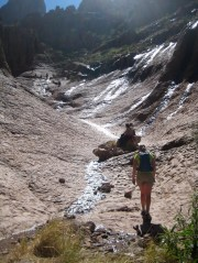 Hiking Into Siphon Draw