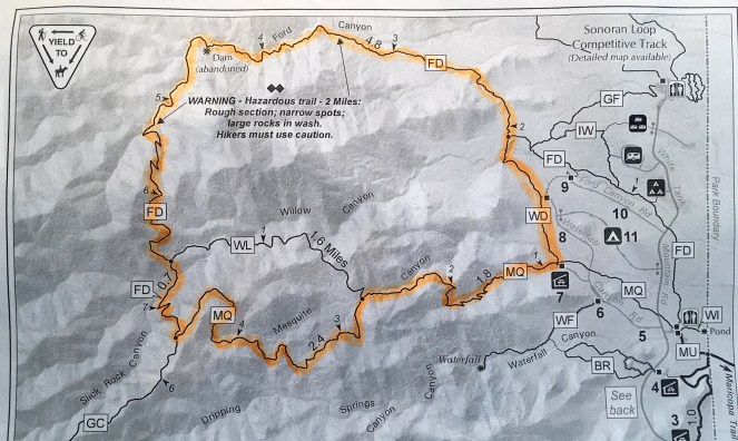 Mesquite-Ford Trail Map
