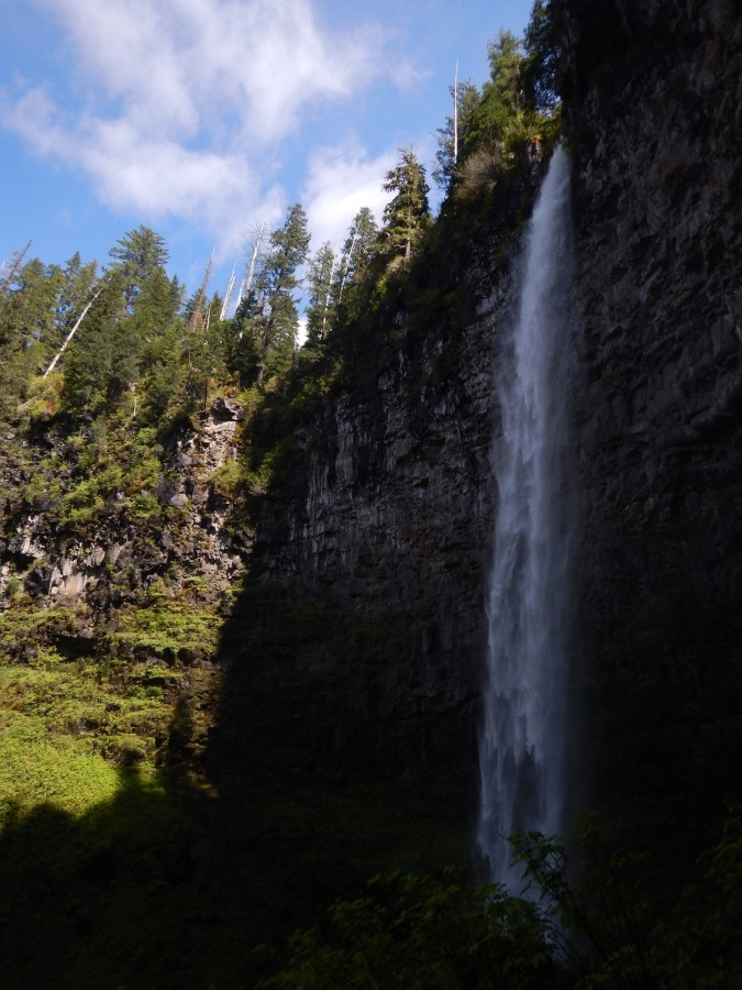 Watson Falls on the Rogue-Umpqua Scenic Byway. At 292' it's Oregon's 3rd tallest waterfall and I think the best on the North Umpqua River Basin. Don't miss it!