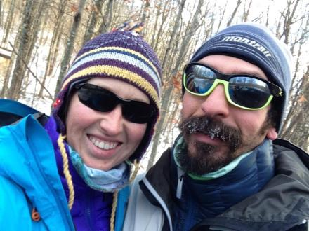 Snowy Hike at Elk Knob State Park