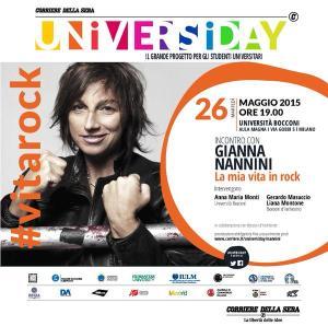 Gianna Nannini Vitarock Universiday