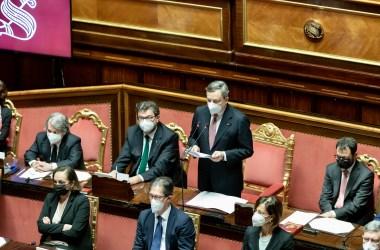 Draghi al Senato
