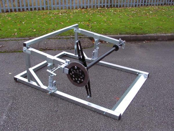 Braked Drum Stand