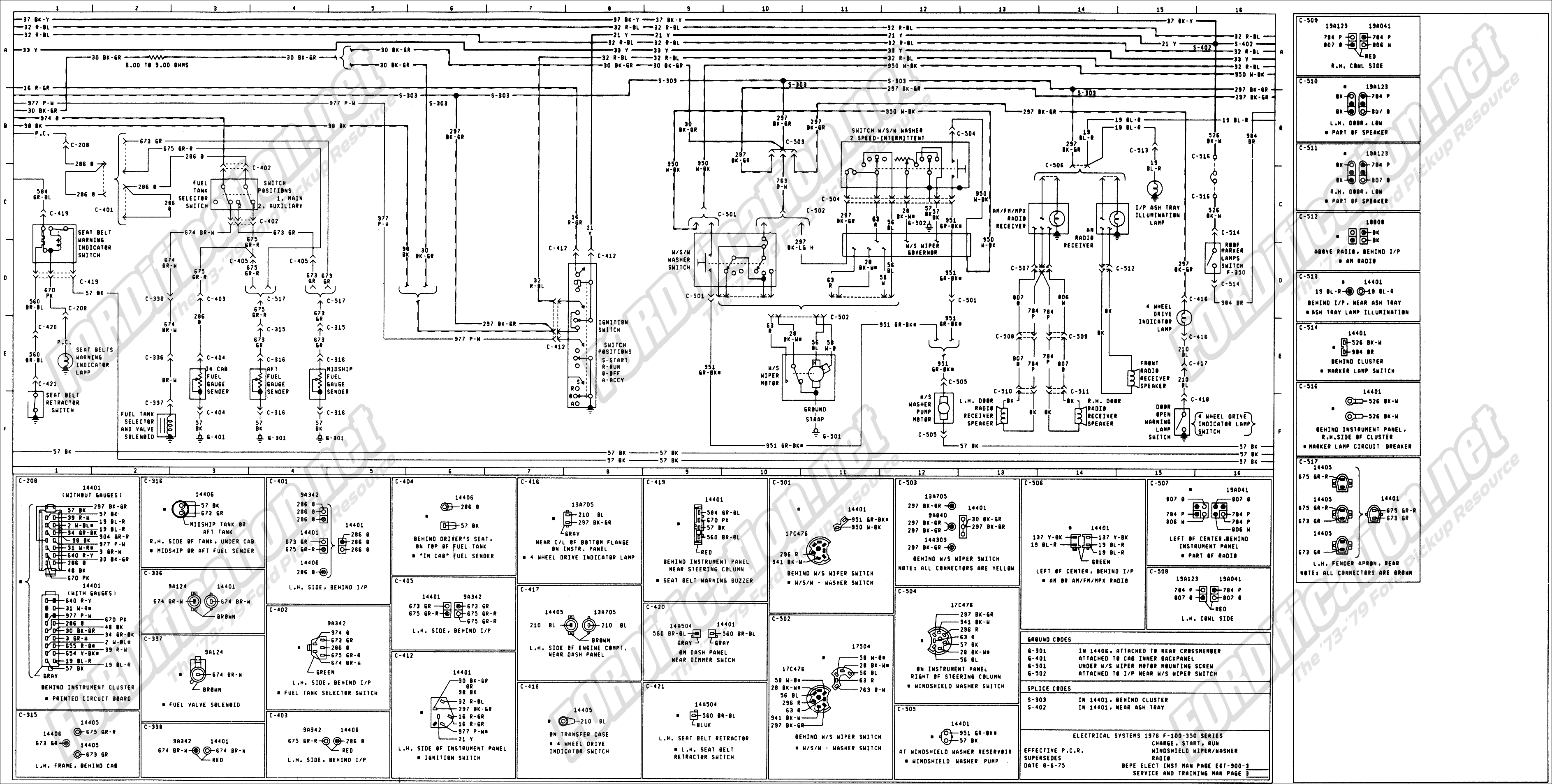 2002 F350 Wiring Schematic | Wiring Diagram F Trailer Wiring Schematic on