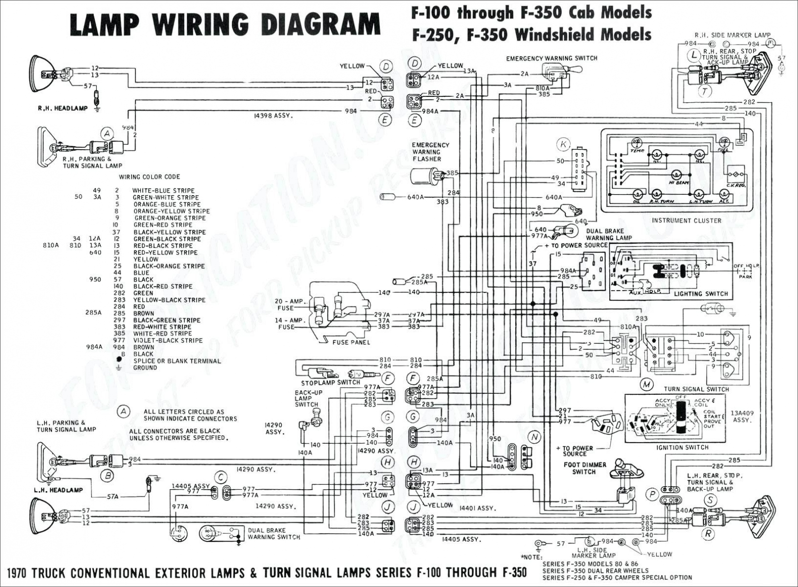 Ford Dash Wiring Diagram