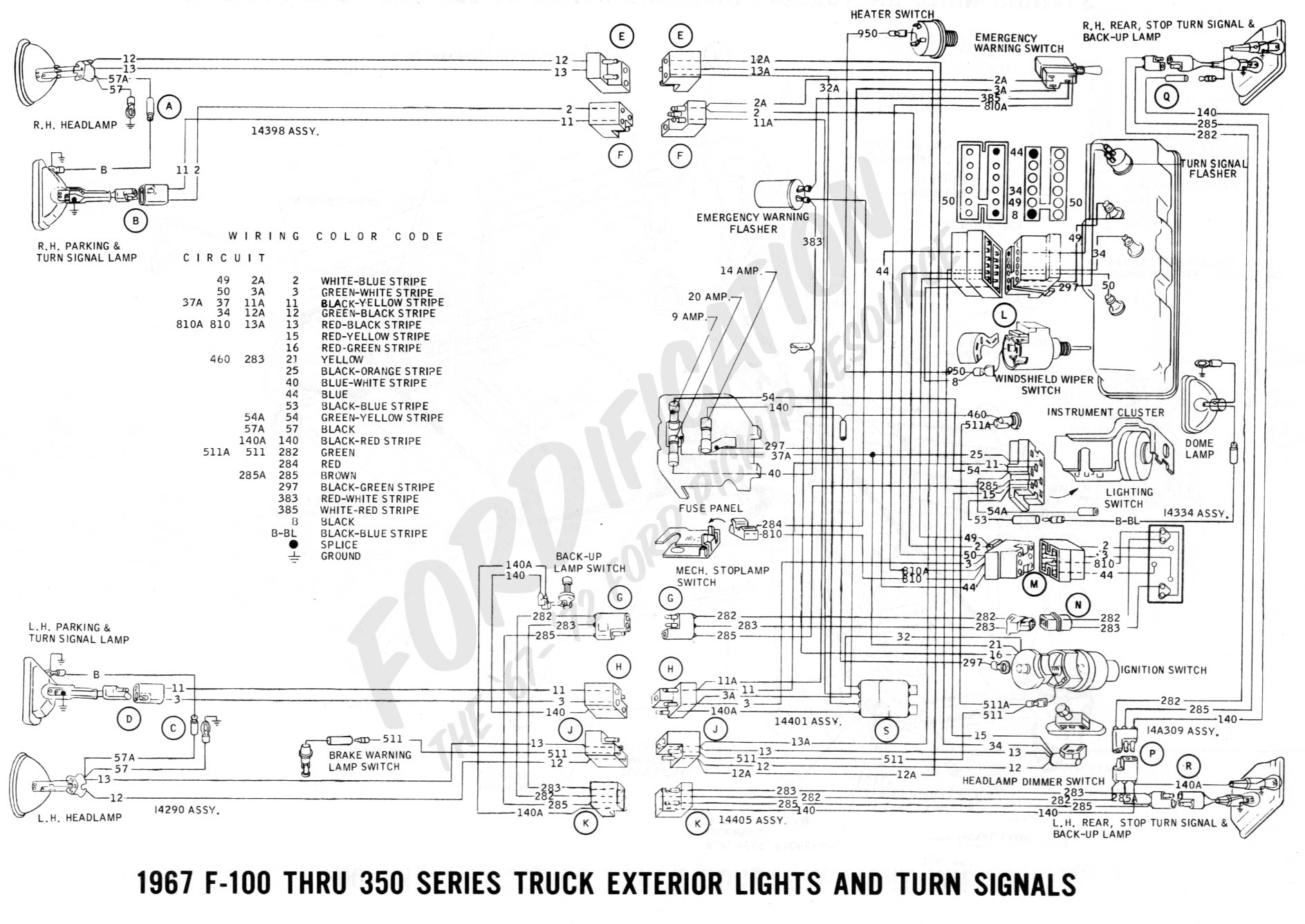Ford Fiestum Fuse Diagram
