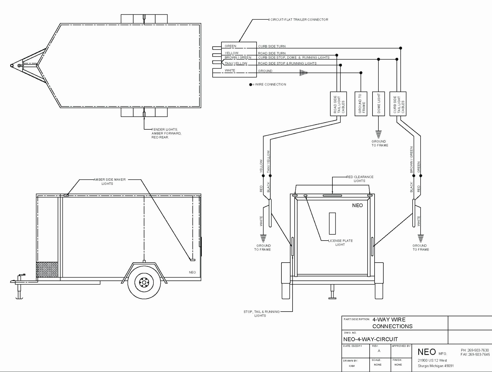 Wiring Diagram For Dump Trailer