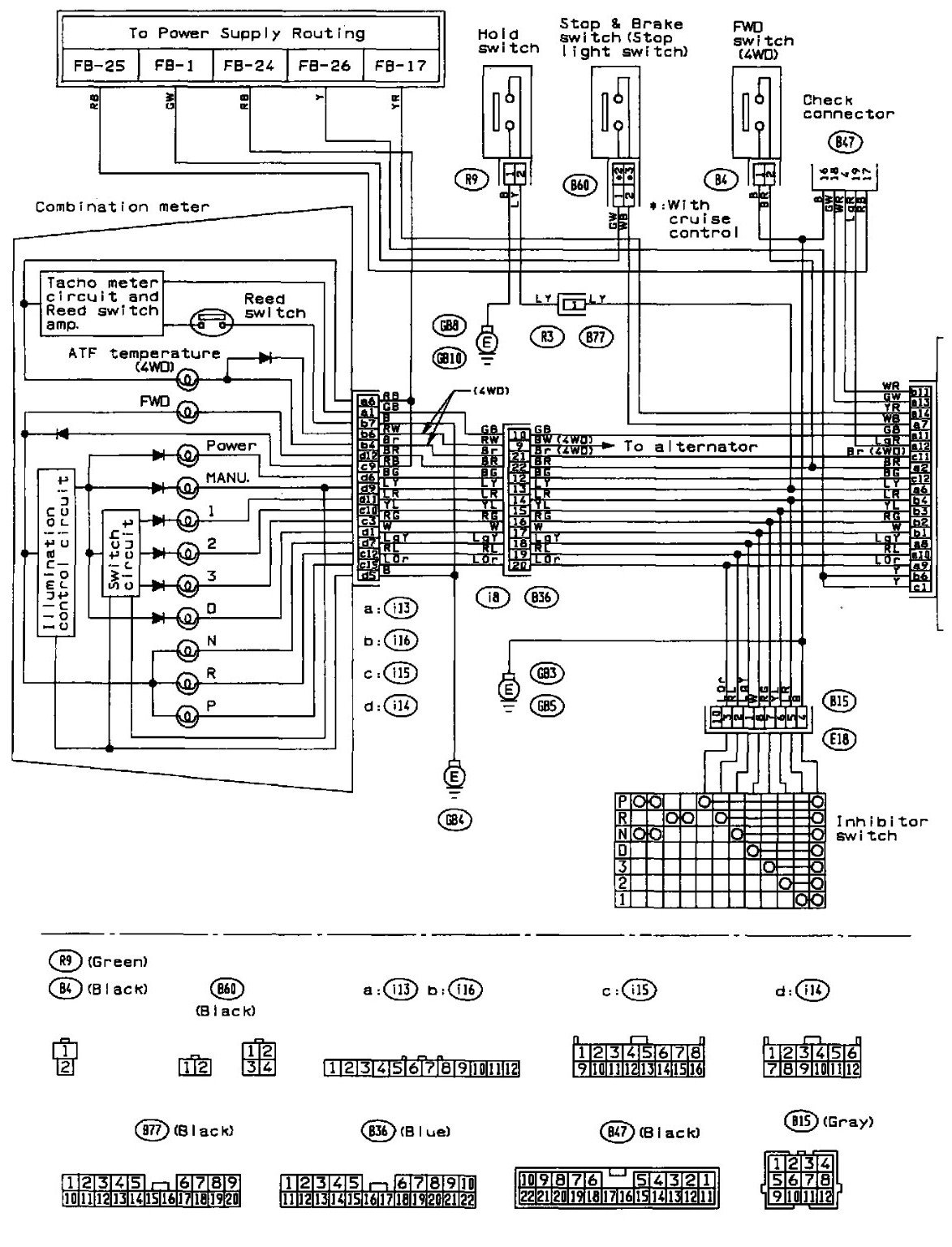 Images Of 2000 Subaru Legacy Wiring Diagram Wire Diagram Images