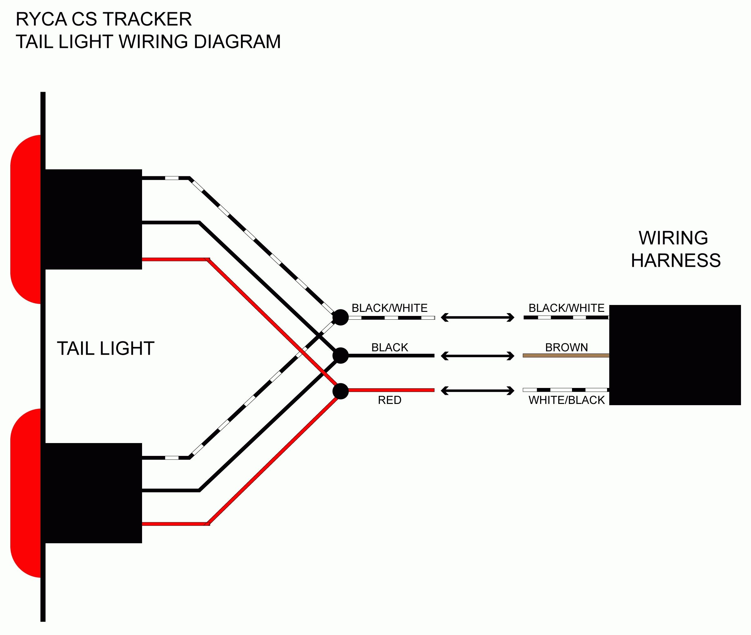 Led Trailer Light Wiring Diagram