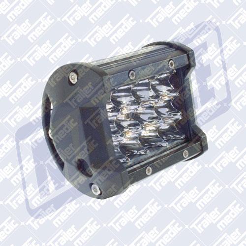 Light Bar 12/24v 18W (12 x 1.5W LED) - Spot