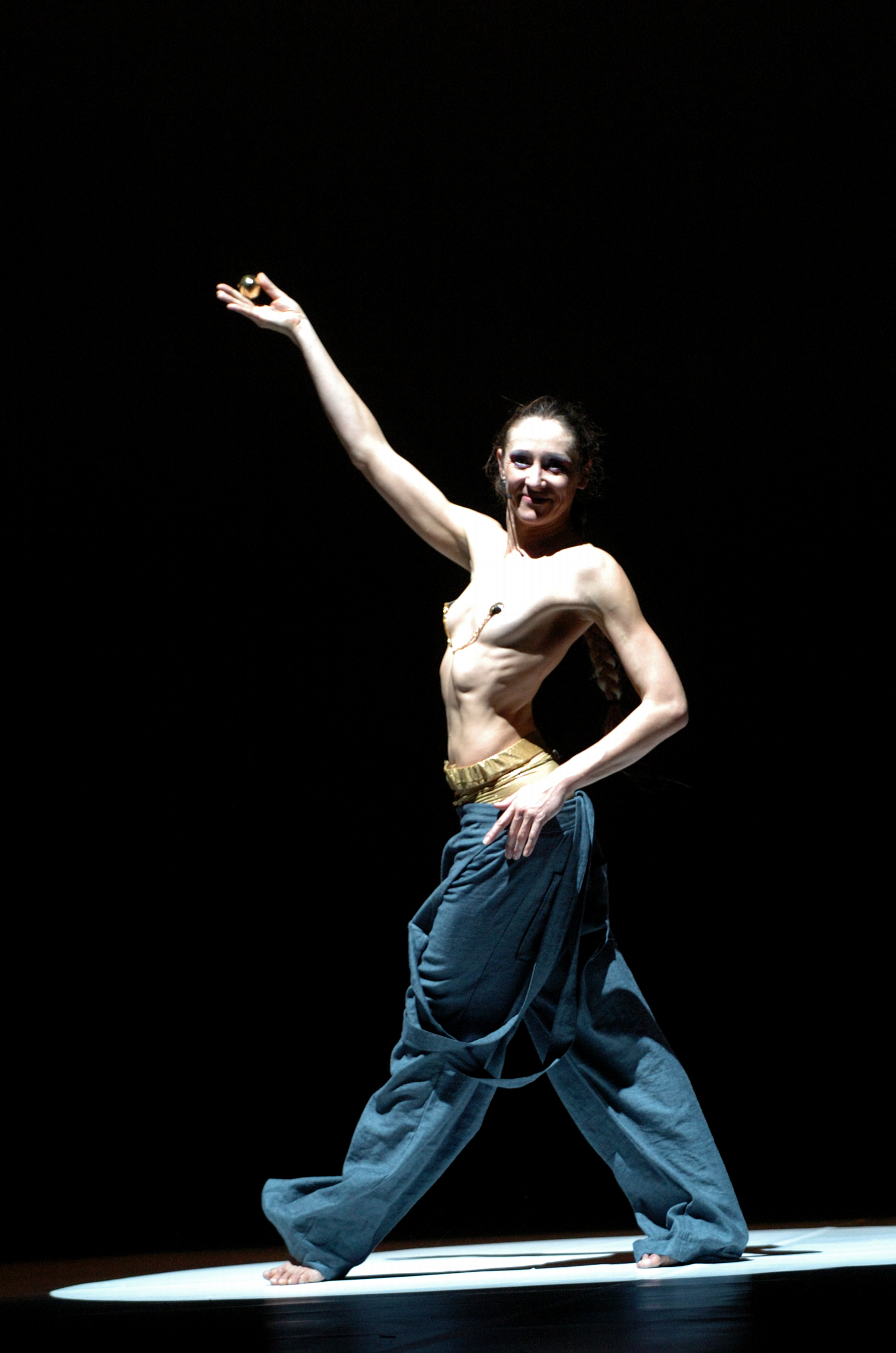 Carol Prieur of Compagnie Marie Chouinard. Photo by Michael Slobodian.