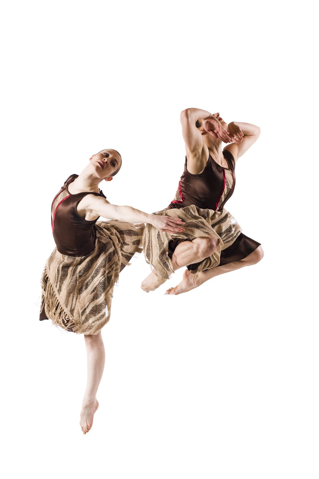 Kirsten Shelton and Vanessa Valecillos in Sugar in the Raw.  Photo by Cheryl Mann.