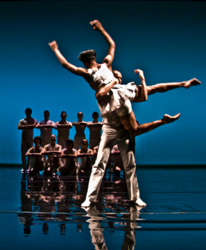 Cedar Lake dancers in Sunday, Again. Photo by Carina Musk-Anderson.