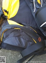 geräumige Hüfttasche