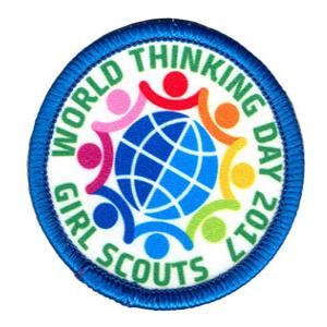 World Thinking Day 2017 Badge