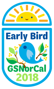 GSNorCal Early Bird Patch