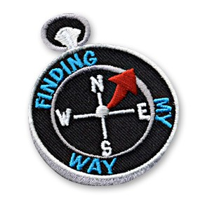 Finding My Way Patch