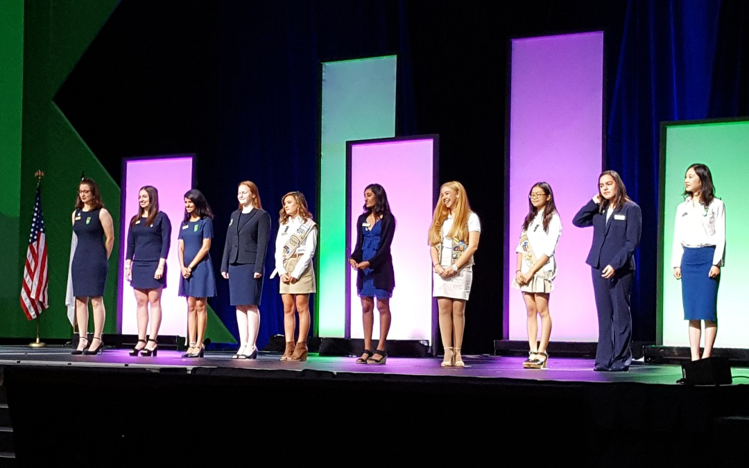 A Truly Inspiring Experience at the Girl Scout National Convention from a Delegate's Perspective