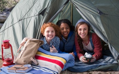 7 Badges to Help Your Troop Level Up as Campers