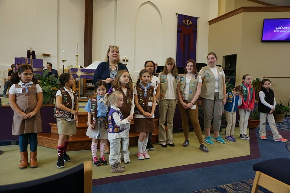 5 Tips for Hosting Girl Scout Sunday or Girl Scout Sabbath